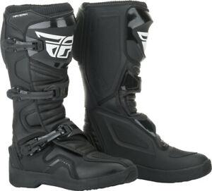 Fly Racing Maverik Boots (SZ 07, Black)