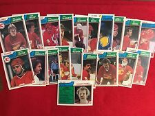 1983 84 O Pee Chee Calgary Flames  hockey card team set   Lanny McDonald
