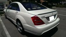 07 2013 Mercedes-Benz S-Class W221 S350 S550 S63 S65 AMG Style Trunk Spoiler Lip