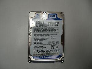 """Western Digital WD6400BPVT-22HXZT3 640GB 2.5"""" Hard Drive"""