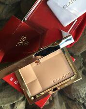 CLARINS 03 Transparent Warm Ever Matte Mineral Powder Compact Shine Control 10g
