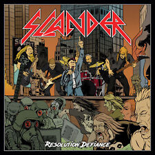 SLANDER - Resolution defiance (NEW*NWOBHM COMEBACK*SAXON*DIAMOND HEAD*C.HOOF)