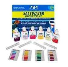 API Fish Tank Aquarium Saltwater Master Test Kit