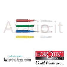 Oliatori semplici Horotec 4 pz. MSA Swiss Made Simple oilers plastic orologiaio