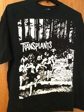 Transplants.  Black Shirt.  No Tag.