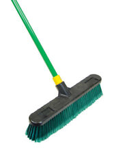 Quickie  Bulldozer  Indoor/Outdoor Broom  18 in. W x 60 in. L Polypropylene