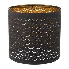 Ikea NYMÖ Pendant Or Floor Lamp shade Black/brass-colour NYMO 24 cm