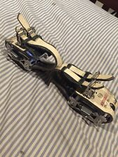 MKS EXA Track Pedals With Kashimax NJS Dual Sprint Leather Toestraps