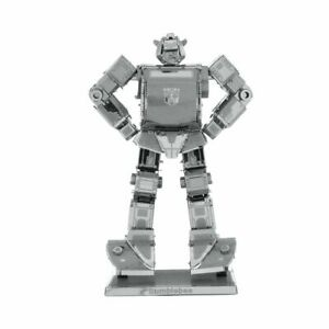 DIY 3D Metal puzzle Transformer Bumblebee imagination creativity fun craft