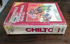 Chilton's Motorcycle Atv Repair Manual 1945-1985 Honda Kawasaki Suzuki Yamaha