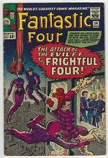 Fantastic Four #36 Silver Age Marvel Comic Book 6.0 FN 1st Medusa The Inhumans