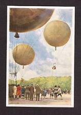 Hot Air Balloon Ballooning Vintage 1932 Sanella Sports Card