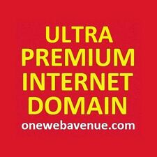 Ultra Premium Internet Domain Name - onewebavenue.com