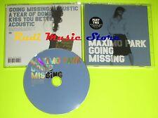 CD Singolo MAXIMO PARK Going missing England 2005 WARP RECORDS mc dvd (S8)