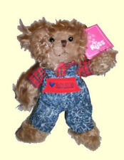 "Russ Berrie® Luv Pet® 8"" Benjamin Jr. (Heart)2SK8 Shaggy Teddy Bear SALE PRICED!"