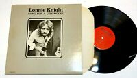 Song For A City Mouse by Lonnie Knight LP folk rock Vg+