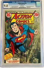 Action Comics #419 CGC 9.8 Classic Neal Adams Superman Cover - 1st Human Target