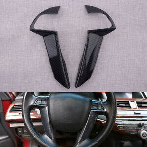 Kit Steering Wheel Button Cover Trim fit for Honda Accord Crosstour GL 2008-2013