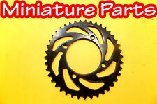 PIT BIKE REAR BACK SPROCKET 420 40 TOOTH TEETH FITS SDG WHEEL SUPER MOTO PITBIKE