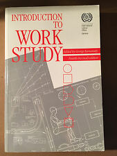 Introduction to Work Study by George Kanawaty, C.R.Wynne- Roberts,...