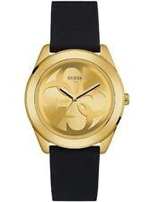 Relojes de pulsera de oro de goma resistente al agua