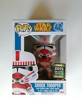 Funko POP! Star Wars #42 Shock Trooper - Galactic Convention - Blue Box Vaulted