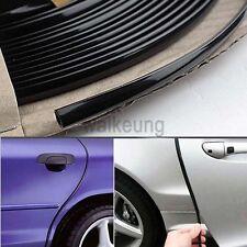 20FT Black Moulding Trim Strip Car Door Edge Scratch Guard Protector Cover Mold