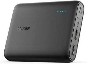 Anker PowerCore 13000mah Power Bank Compact 2 Port Ultra Portable Charger