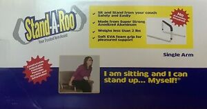 Stand-A-Roo Single Arm Mobility Aid Couch Chair Portable Seniors