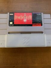 New listing Final Fantasy Ii 2 Super Nintendo Snes Authentic Tested and Working