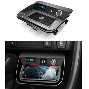 For 2020 Toyota RAV4 XA50 15W Car Wireless Charger Fast Charging