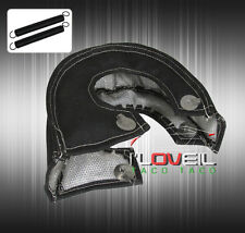 NEW TURBO BLANKET HEAT SHIELD TURBOCHARGER COVER WRAP BLACK T3 T25 TO4E TO4B T4