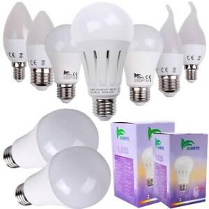 E14 E27 3W-25W LED Kerzenlicht Birne Kronleuchter Bulb Glühbirne Licht Lampe