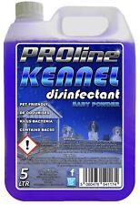 Proline Dog Kennel Disinfectant, Cleaner, 5ltr Baby Powder Fragrance Deodoriser