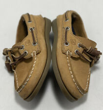 Toddler Boys Sperry Top Sider Slip on Casual Shoes Sz 6M Sahara CB27264