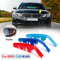 M-Color Grille Grill Cover Clip Trim For BMW G20 M340i ABS Snap-on  !! !!