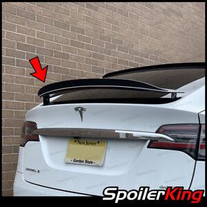 Rear Add-on Factory Lip Spoiler (Fits: Tesla Model X all years) Gurney Flap 284K
