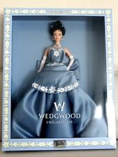 1999 Limited Edition BARBIE ENGLAND 1759 WEDGWOOD Jasper Blue - NIB NEUF 25641