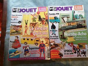 LOT 8 MAGAZINES LA VIE DU JOUET  ANNEE 2006