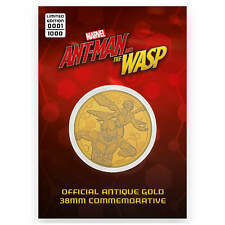 Medal Marvel Gifts Guardians of the Galaxy Limited Edition Rare Collectable Gold Coin Nebula