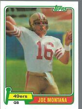 "2012 Topps ""Rookie Reprint"" Joe Montana San Francisco 49ers"