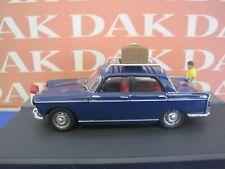 Die cast 1/43 Modellino Diorama La Route Bleue Auto Peugeot 404