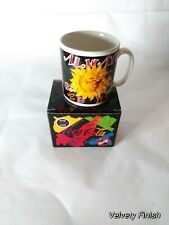 """Vintage 1995 Coca Cola """"Always Red Hot Mug"""" Classic Cup Sun Drinking A Coke"""