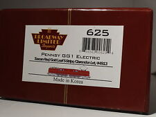 HO-BROADWAY LIMITED 625 GG1 TUSCAN RED Gold Leaf 5-Stripe CLARENDON Letter PRR