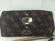 Women's GUESS Brand XL Brown CONFIDENTIAL Wallet - $50 MSRP