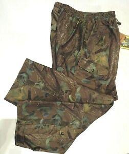 Jack Pyke Camo Breatha-Tex Waterproof Hunter Trousers Size Large
