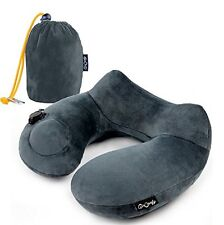 AirComfy Daydreamer Neck Pillow - TOP RATED INFLATABLE TRAVEL PILLOW - s