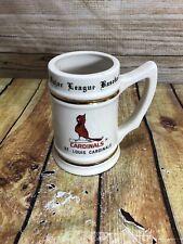 Vintage Mlb Mug St. Louis Cardinals, Lewis Brothers Ceramics, Trenton Nj