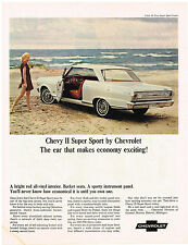 Vintage 1965 Magazine Ad Chevrolet Chevy II Super Sport One Of Big Time Savers