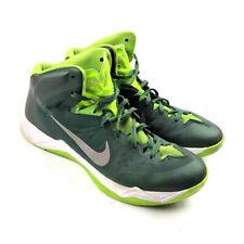 Nike Air Zoom Hyperdunk 2013 Basketball Shoes Mens Green White Size 11